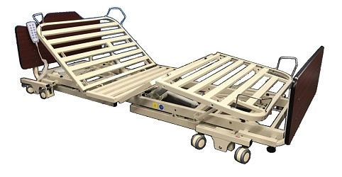 NOA Elite II Fully Adjustable Four-Motor Hospital Bed