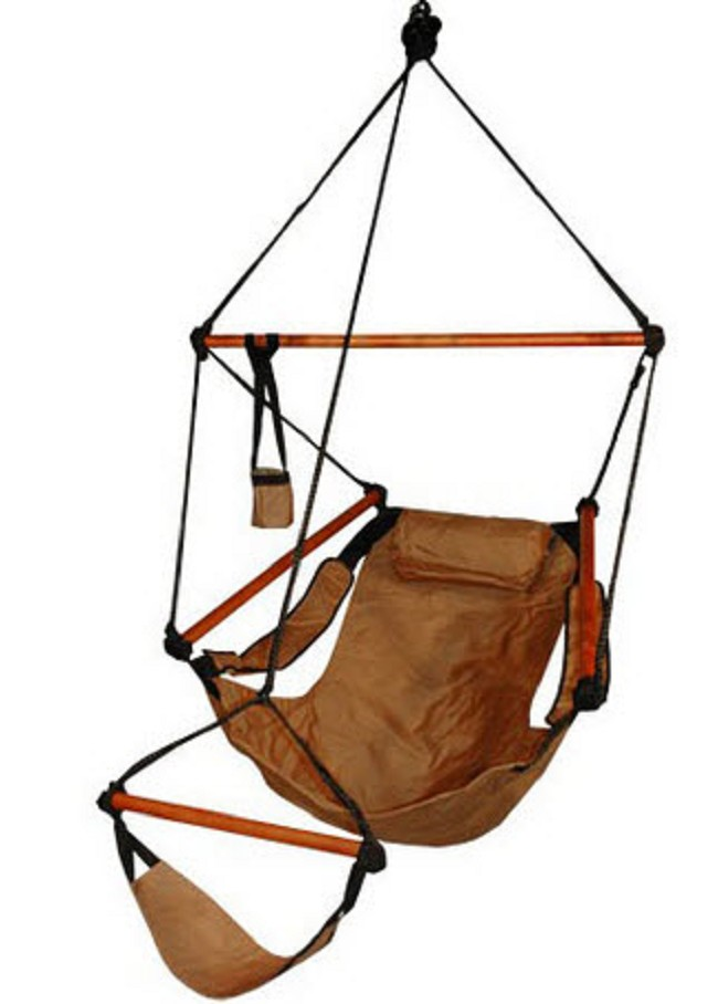 Zero Gravity Hanging Chair Swing with Leg Rest