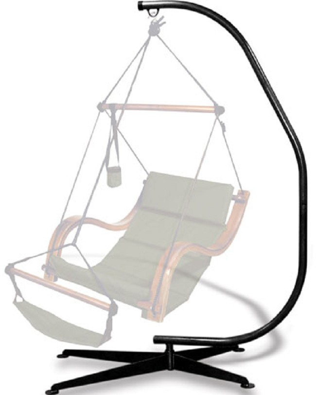 Suelo C Shaped Swing Stand For Hanging Chairs