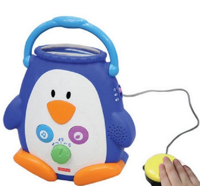 5161a73769 Penguin Switch Adapted Musical Night Light