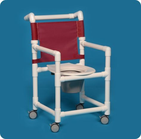pvc rolling shower chair - free shipping
