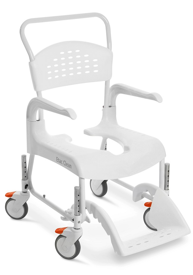 Clean Height-Adjustable Shower Chair