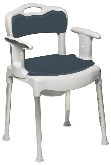 Swift Bedside Commode Chair by Etac