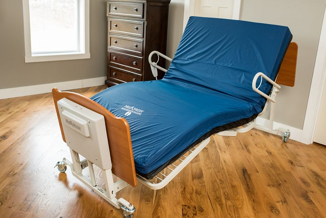 Med Mizer Comfort Wide 6000 Power Adjustable Bariatric Bed
