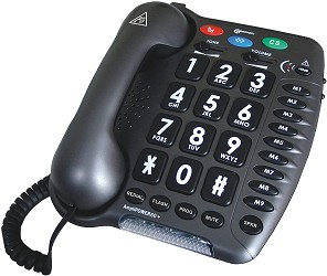 AmpliPower 60 Amplified Hearing Impaired Telephone