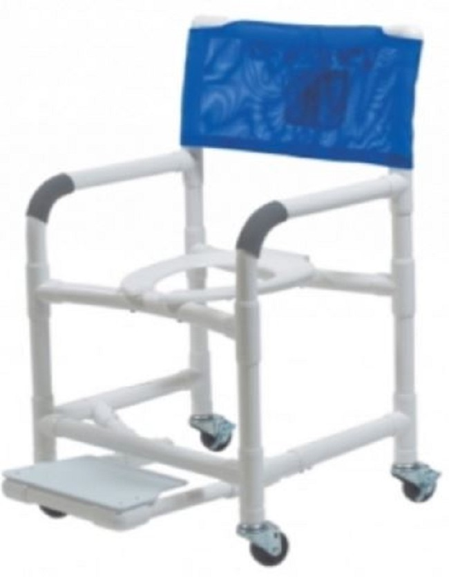 Lumex PVC Shower Chair Commode - FREE Shipping