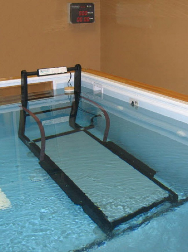 Aquagaiter Underwater Treadmill System With Display