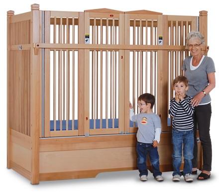 hospital crib | toddler bed rails | crib rail guard | enclosed bed