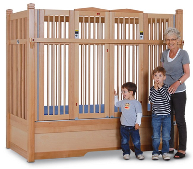 Hannah Safety Bed With Extra Tall Railing