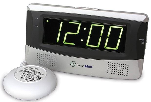Deaf Alarm Clock Hard of Hearing