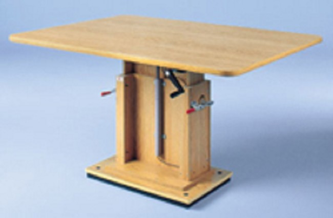 Hydraulic Work Tables : Crank hydraulic work table