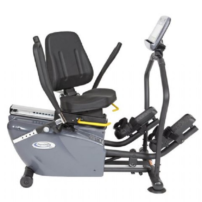 Elliptical Sit Down Bike: PhysioStep MDX Recumbent Elliptical Cross Trainer With