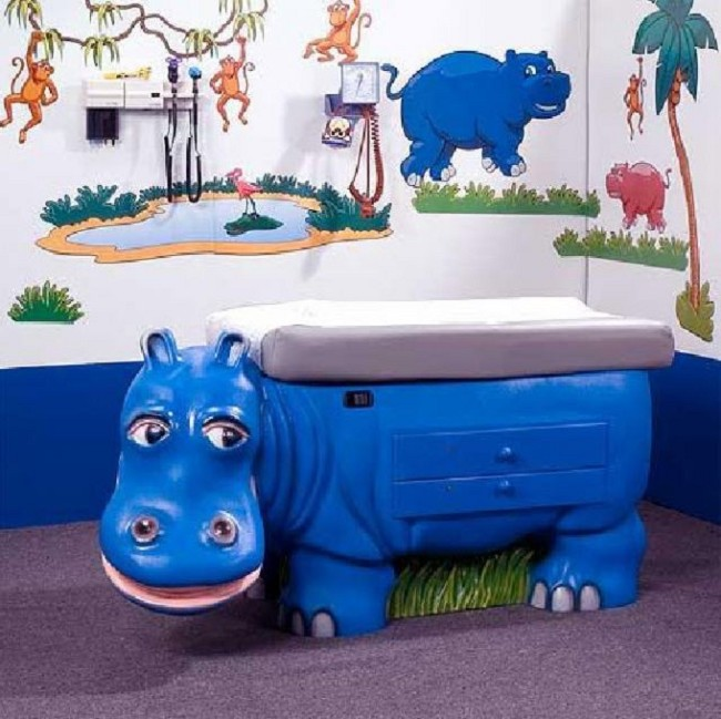 Pleasant Hippo Pediatric Exam Table Environment Pack Download Free Architecture Designs Licukmadebymaigaardcom