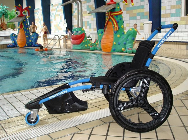 Hippocampe Pool Access Wheelchair - FREE Shipping