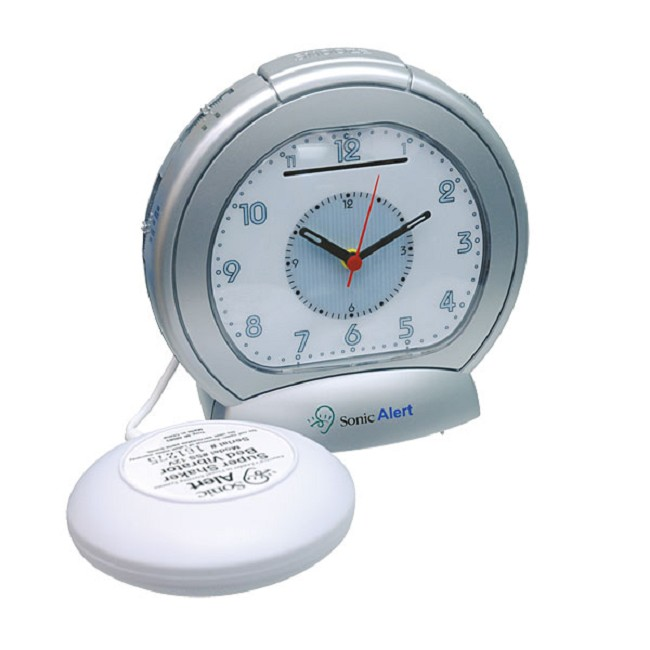 Sonic Boom Analog Vibrating Alarm Clock