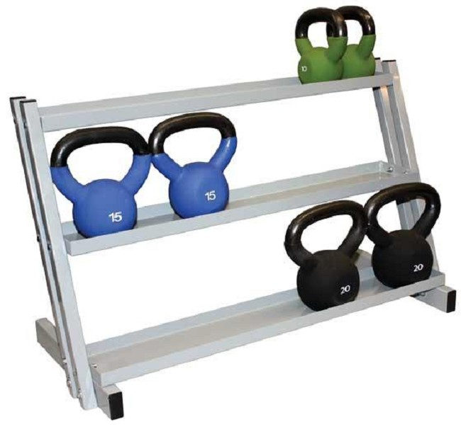Free Weights Storage: Kettlebell Weight Storage Rack