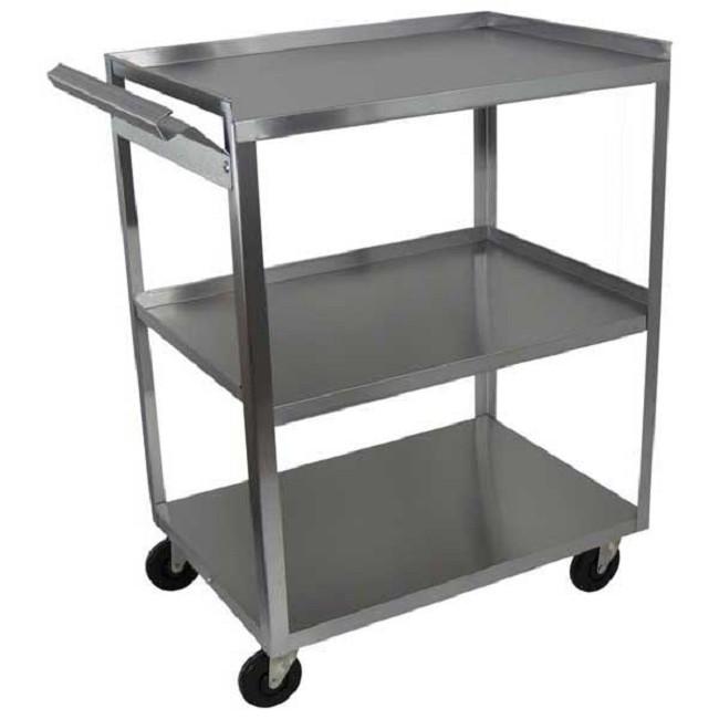 3 Shelf Stainless Steel Utility Cart