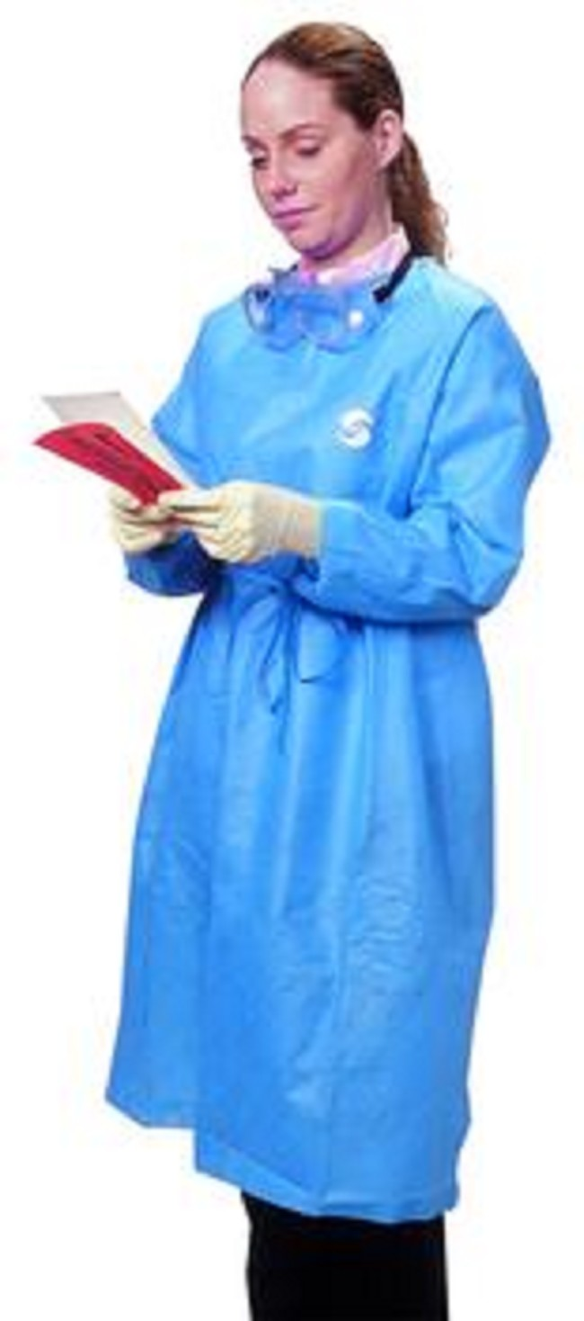 Protective Long Sleeves Chemoplus Gown - FREE Shipping