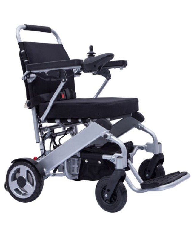 Freedom Chair Portable Lightweight Folding Electric Wheelchair