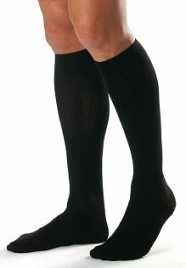 e2c25299c4 These stylish compression knee highs for men reduce swelling and keep legs  and feet cool, dry, and comfortable all day, every day!