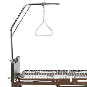 Hospital Bed With Overhead Trapeze