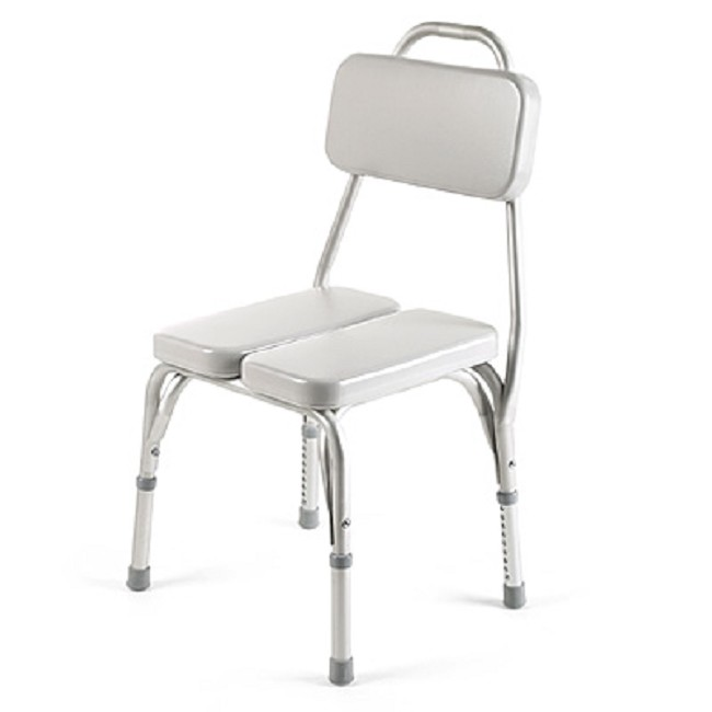 Vinyl Padded Shower Chair Free Shipping