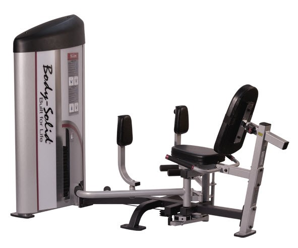 exercise machine for inner and outer thighs