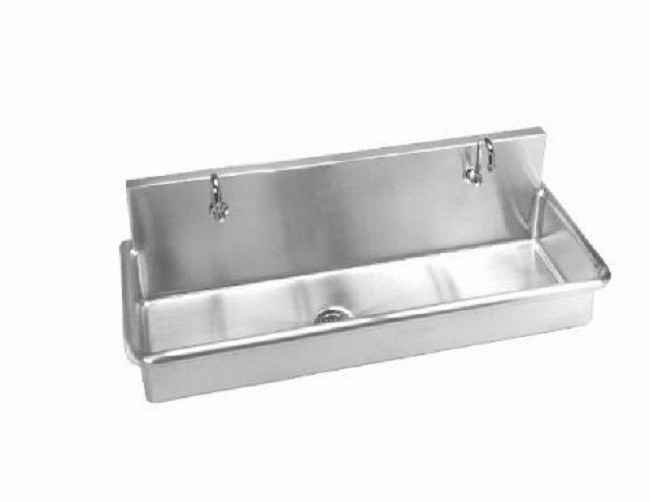 Stainless Steel Surgical Multi Station Wall Mounted Sink