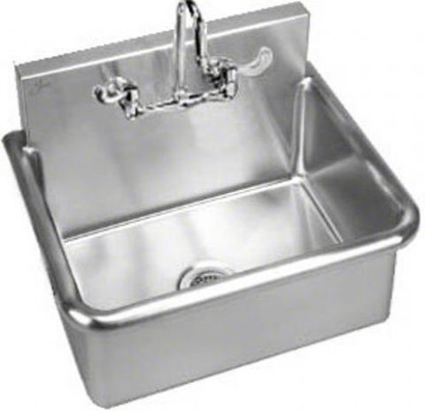 Stainless Steel Wall Hung Wash Up Sink Free Shipping