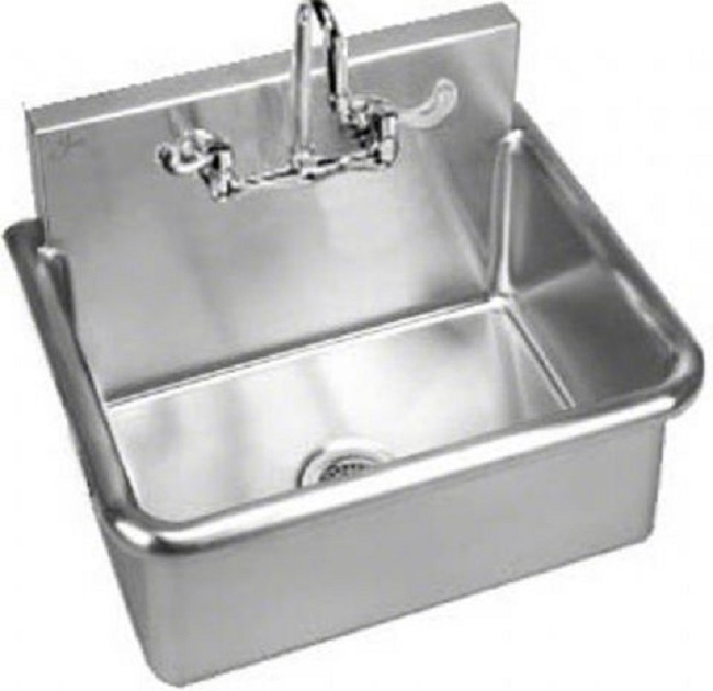 Stainless Steel Wall Hung Wash Up Sink