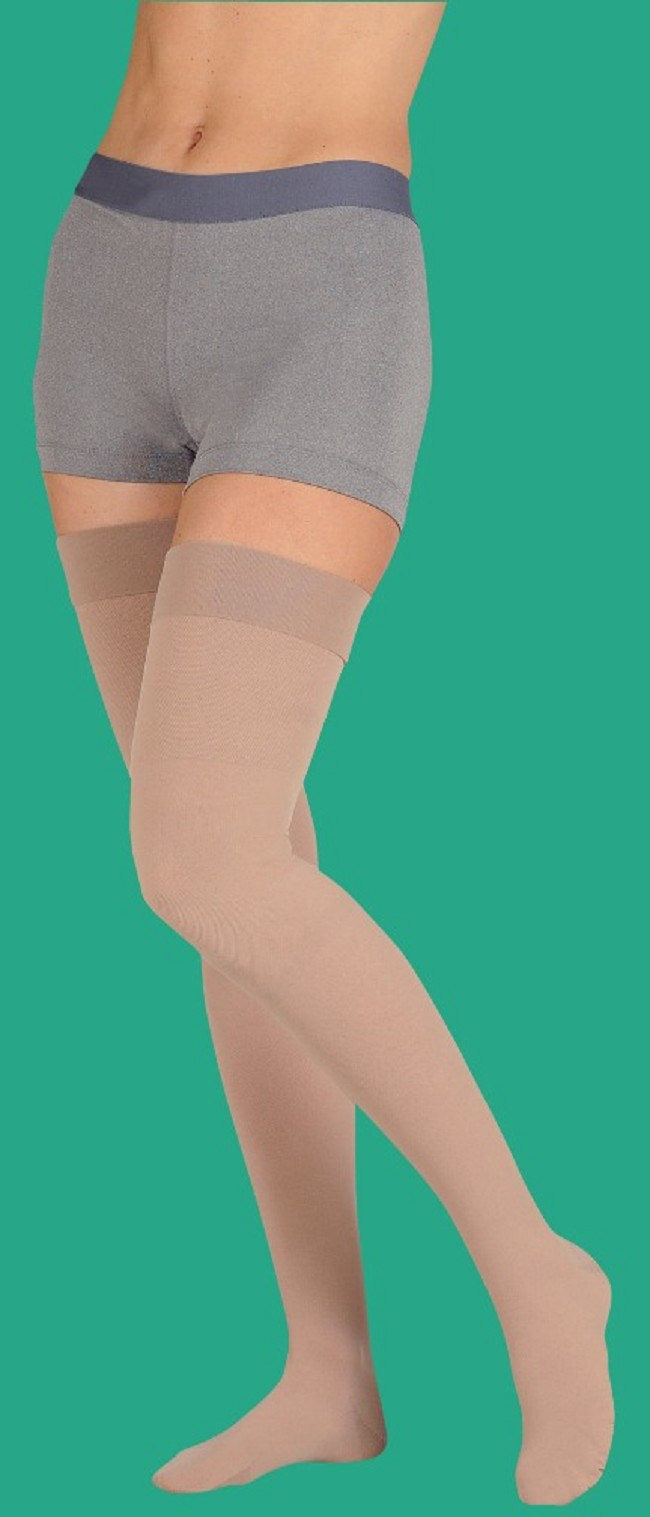 db7cfae79bd7c6 Juzo Soft Petite Length Closed Toe Thigh High 20-30 mmHg Compression  Stocking
