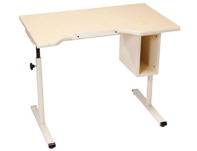 Wheelchair Accessible Desk With Storage