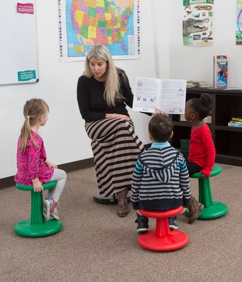 Kidsfit Kinesthetic Classroom Wobble Chairs