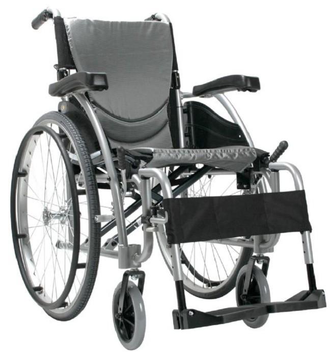 S-Ergo 115 Ultra Lightweight Ergonomic Wheelchair by Karman Healthcare