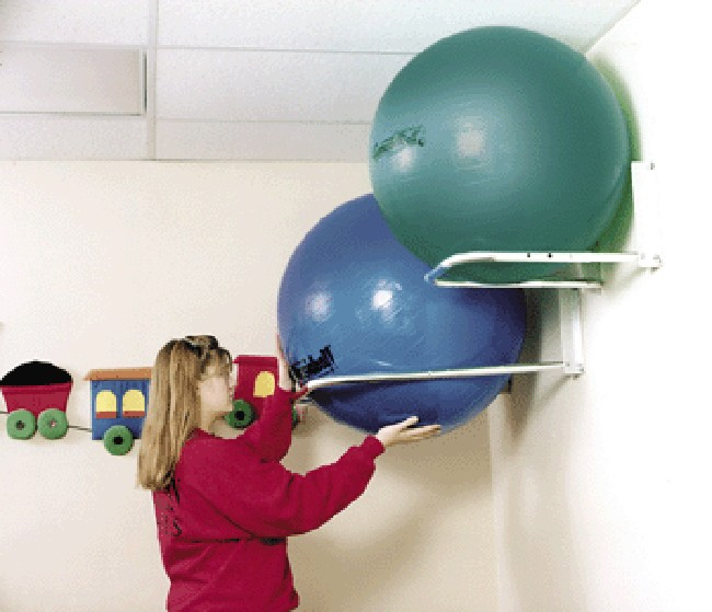 Stability Ball Wall Rack: Kaye Ball And Roll Holders FOR SALE
