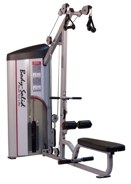 lat pulldowns machine