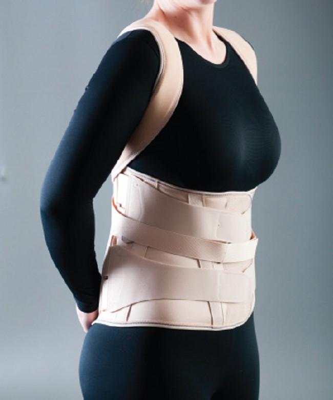Lumbitec Lumbosacral Orthosis LSO Back Support Brace