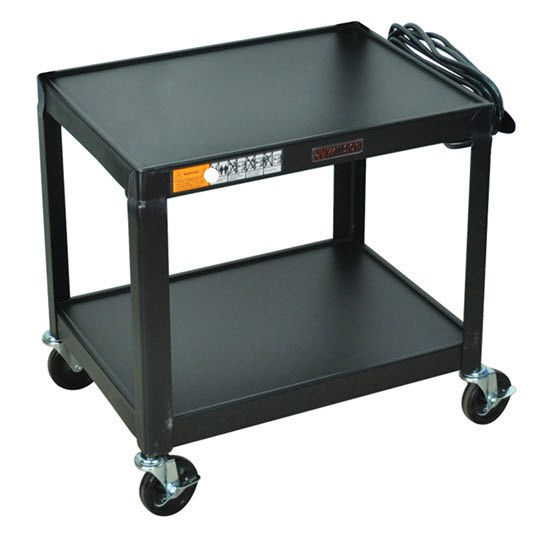 Av Cart Rolling Tv Stand Utility Cart Audiovisual