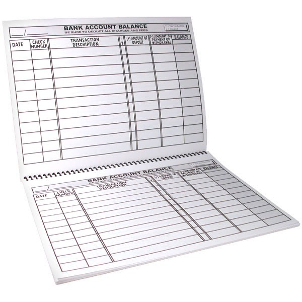 large check registers