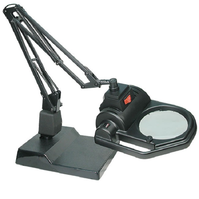 Electrix slx series halogen magnifying desk lamp aloadofball Gallery