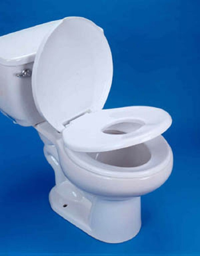 2 in 1 Family Double Toilet Seat   FREE Shipping
