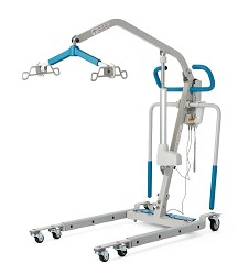 Medline Electric Patient Lift with Power-Adjustable Base