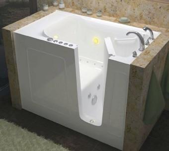 Flamingo II Step in BathtubWalk In Bathtub   Whirlpool Bathtubs   Jetted Tub   DISCOUNT  . Lay Down Walk In Bathtub. Home Design Ideas