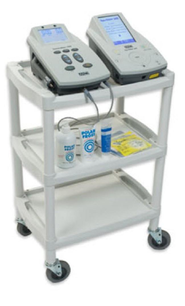 Three Shelf Mobile Ultrasound Cart