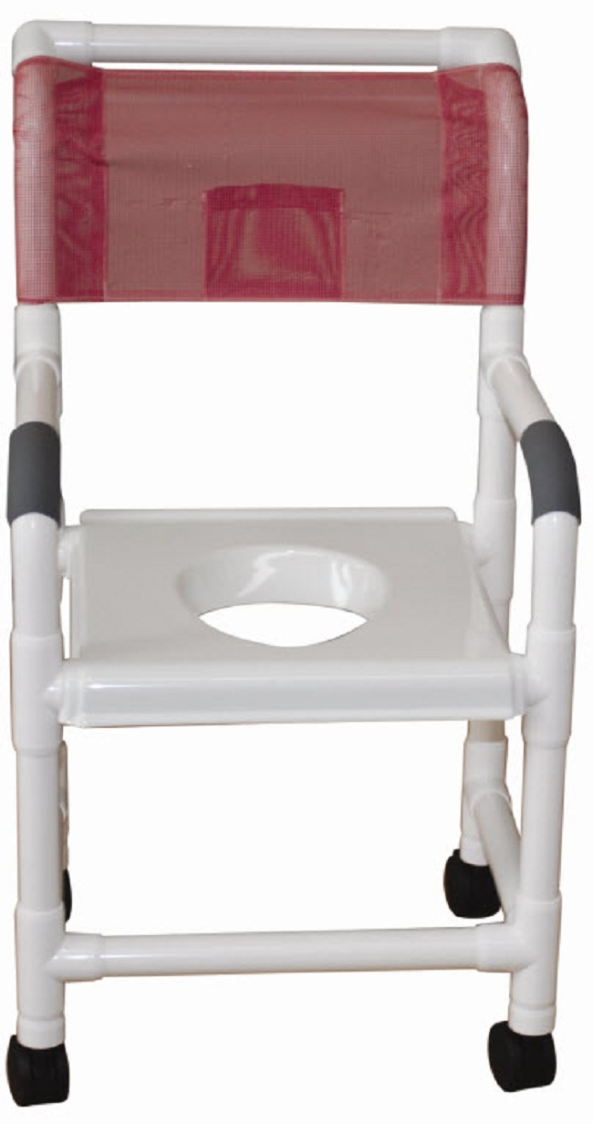 Shower Chair with Snap On Vacuum Seat - FREE Shipping