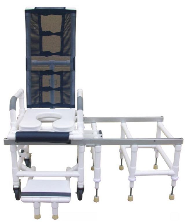 Deluxe All Purpose Tilt-in-Space Shower Transfer Chair