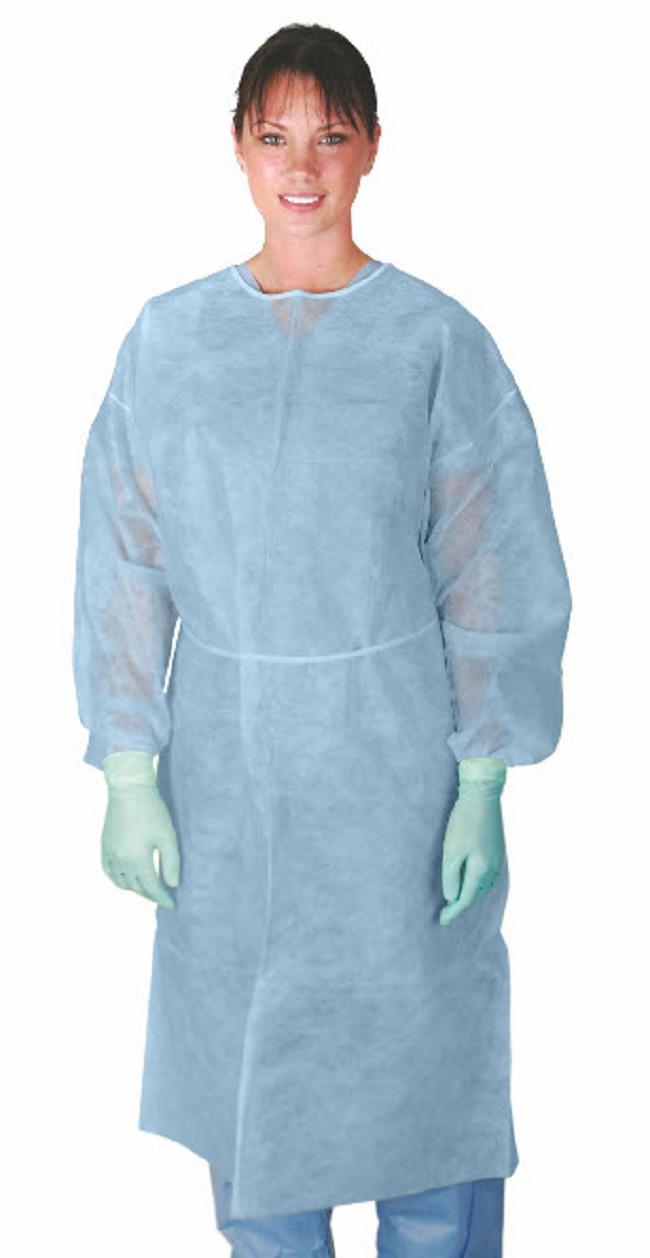 Medline Polypropylene Isolation Gowns - FREE Shipping