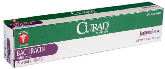Curad Bacitracin Zinc Ointment, Case of 12, by Medline
