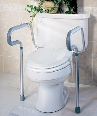 Toilet Safety Frames | Toilet Grab Bars | Bedside Commode | Toilet ...