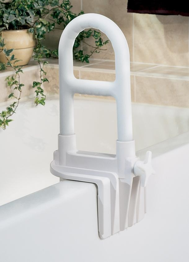Medline Guardian Signature White Adjustable Bathtub Grab Bar